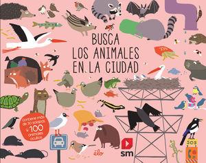 BUSCA LOS ANIMALES EN AL CIUDAD