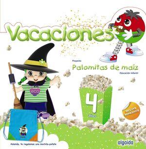 PALOMITAS DE MAÍZ 4. CUADERNO DE VACACIONES