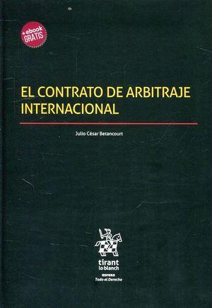 EL CONTRATO DE ARBITRAJE INTERNACIONAL