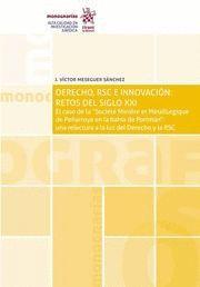 DERECHO, RSC E INNOVACION: RETOS DEL SIGLO XXI