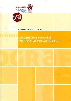 LOS DERECHOS HUMANOS EN EL SISTEMA INTERAMERICANO