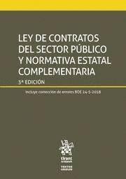 LEY DE CONTRATOS DEL SECTOR PÚBLICO Y NORMATIVA ESTATAL COMPLEMENTARIA