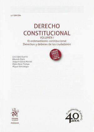 DERECHO CONSTITUCIONAL VOLUMEN I