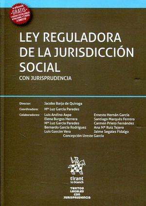 LEY REGULADORA DE LA JURISDICCION SOCIAL CON JURISPRUDENCIA