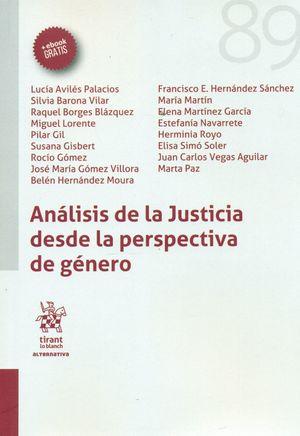 ANÁLISIS DE LA JUSTICIA DESDE LA PERSPECTIVA DE GÉNERO