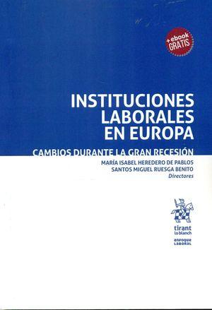 INSTITUCIONES LABORALES EN EUROPA