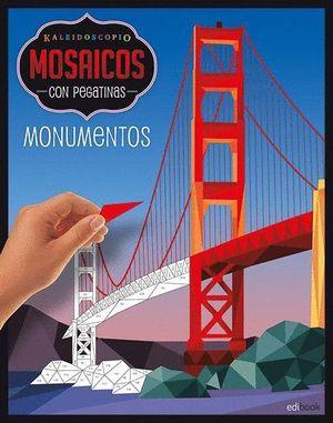 MONUMENTOS. MOSAICOS CON PEGATINAS PARA ADULTOS