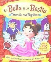 LA BELLA Y LA BESTIA. DIVERSION CON PEGATINAS