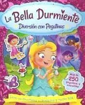 LA BELLA DURMIENTE. DIVERSION CON PEGATINAS