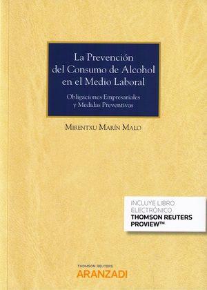 PREVENCIÓN DEL CONSUMO DE ALCOHOL EN EL MEDIO LABORAL