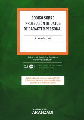 CODIGO SOBRE PROTECCION DE DATOS DE CARACTER PERSONAL