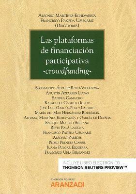 PLATAFORMAS DE FINANCIACIÓN PARTICIPATIVA - CROWFUNDING-