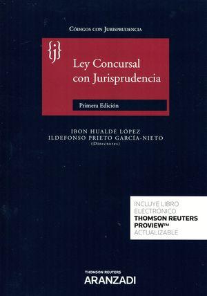 LEY CONCURSAL CON JURISPRUDENCIA