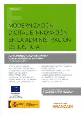 MODERNIZACION DIGITAL E INNOVACION DE LA ADMINISTRACION DE JUSTICIA