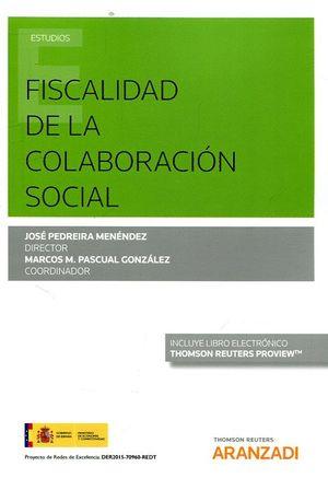 FISCALIDAD DE LA COLABORACIÓN SOCIAL