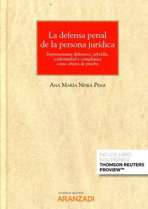 DEFENSA PENAL DE LA PERSONA JURIDICA