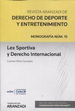 LEX SPORTIVA Y DERECHO INTERNACIONAL