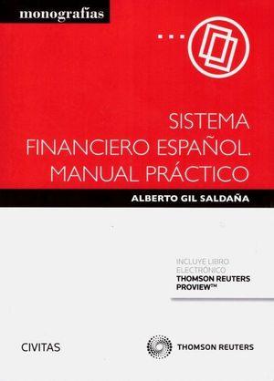 SISTEMA FINANCIERO ESPAÑOL. MANUAL PRACTICO