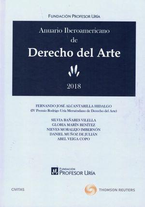 ANUARIO IBEROAMERICANO DE DERECHO DEL ARTE