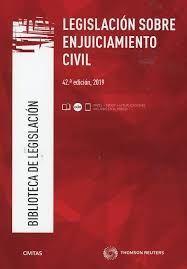 LEGISLACION SOBRE ENJUICIAMIENTO CIVIL - 12