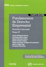 FUNDAMENTOS DE DERECHO EMPRESARIAL T.IV