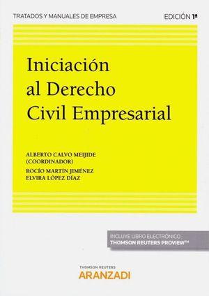 INICIACION AL DERECHO CIVIL EMPRESARIAL