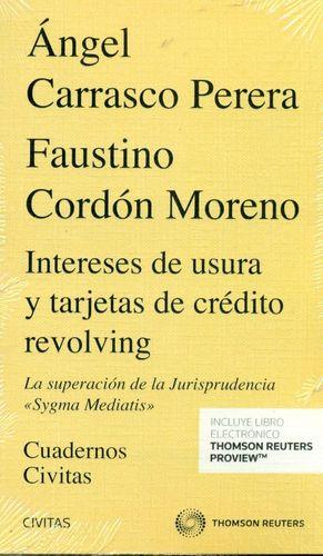 INTERESES DE USURA Y TARJETAS DE CREDITO REVOLVING