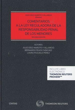 COMENTARIOS A LA LEY REGULADORA DE LA RESPONSABILIDAD PENAL DE LOS MENORES