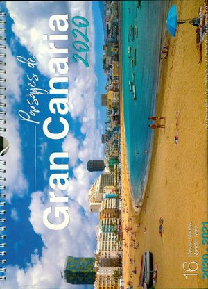 CALENDARIO PAISAJES DE GRAN CANARIA 2020 (GRANDE) (16 MESES)