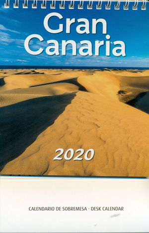 CALENDARIO GRAN CANARIA 2020 (SOBREMESA)