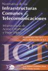 NORMATIVA INFRAESTRUCTURAS COMUNES DE TELECOMUNICACIONES