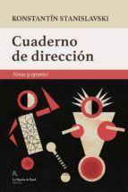 CUADERNO DE DIRECCIÓN. NOTAS Y APUNTES