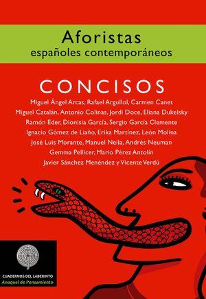 CONCISOS. AFORISTAS ESPAÑOLES CONTEMPORÁNEOS