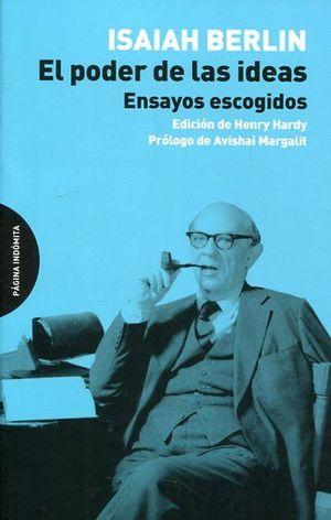 EL PODER DE LAS IDEAS. ENSAYOS ESCOGIDOS