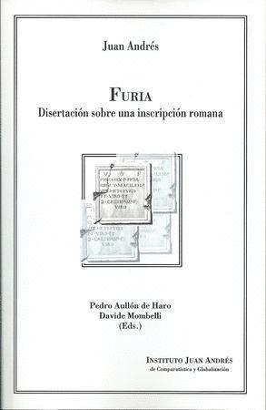 FURIA. DISERTACIÓN SOBRE UNA INSCRIPCIÓN ROMANA