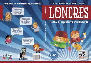 CUADERNILLOS DE ACTIVIDADES LONDRES PARA PEQUEÑOS VIAJEROS