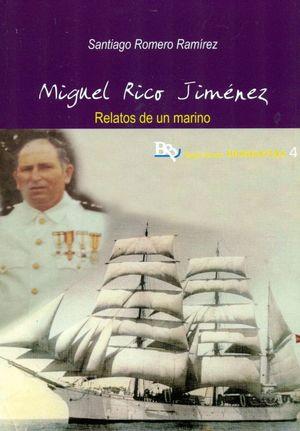MANUEL RICO JIMENEZ. RELATOS DE UN MARINO
