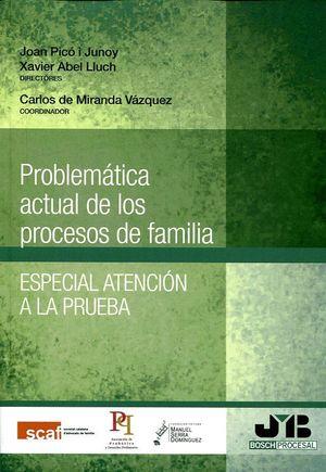 PROBLEMÁTICA ACTUAL DE LOS PROCESOS DE FAMILIA. ESPECIAL ATENCIÓN A LA PRUEBA