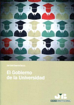 EL GOBIERNO DE LA UNIVERSIDAD