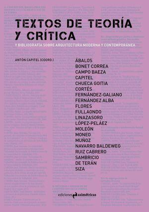 TEXTOS DE TEORIA Y CRITICA