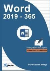 WORD 2019 - 365. CURSO PRACTICO PASO A PASO