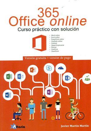365 OFFICE ONLINE. CURSO PRACTICO CON SOLUCION