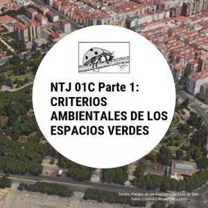 NTJ 01C PARTE 1: CRITERIOS AMBIENTALES DE LOS ESPACIOS VERDES