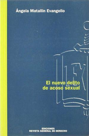 NUEVO DELITO DE ACOSO SEXUAL, EL