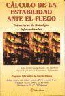CALCULO DE LA ESTABILIDAD ANTE EL FUEGO. ESTRUCTURAS DE HORMIGON