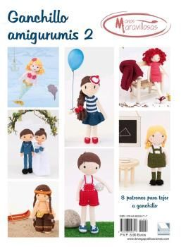 GANCHILLO AMIGURUMIS 2. MANOS MARAVILLOSAS