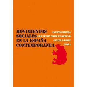 MOVIMIENTOS SOCIALES EN LA ESPAÑA CONTEMPORÁNEA