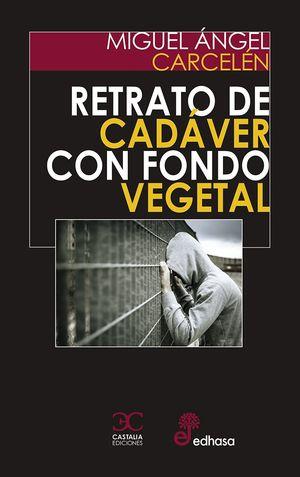 RETRATO DE CADAVER SOBRE FONDO VEGETAL