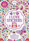 I LOVE STICKERS (MÁS DE 800 ADHESIVOS)