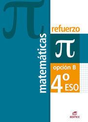 REFUERZO MATEMÁTICAS 4º ESO OPCIÓN B